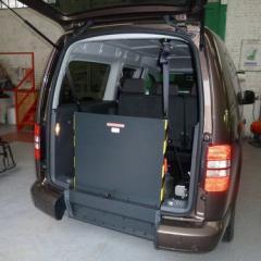Volkswagen Caddy Maxi Life: le décaissement