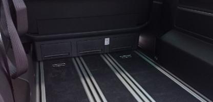 Transformation du Volkswagen Multivan pour le transport d'un fauteuil roulant