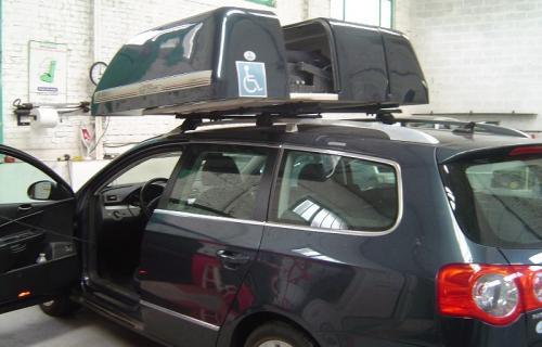 Le coffre de toit